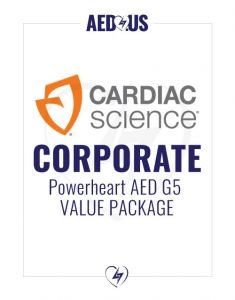 Cardiac Science Powerheart AED G5 Plus Corporate Value Package