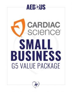 Cardiac Science Powerheart G5 AED Small Business Value Package