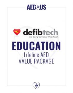 Defibtech Lifeline AED Education Value Package