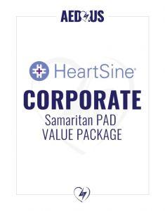HeartSine Samaritan PAD AED Corporate Value Package
