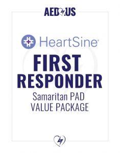 HeartSine Samaritan PAD AED First Responder Value Package