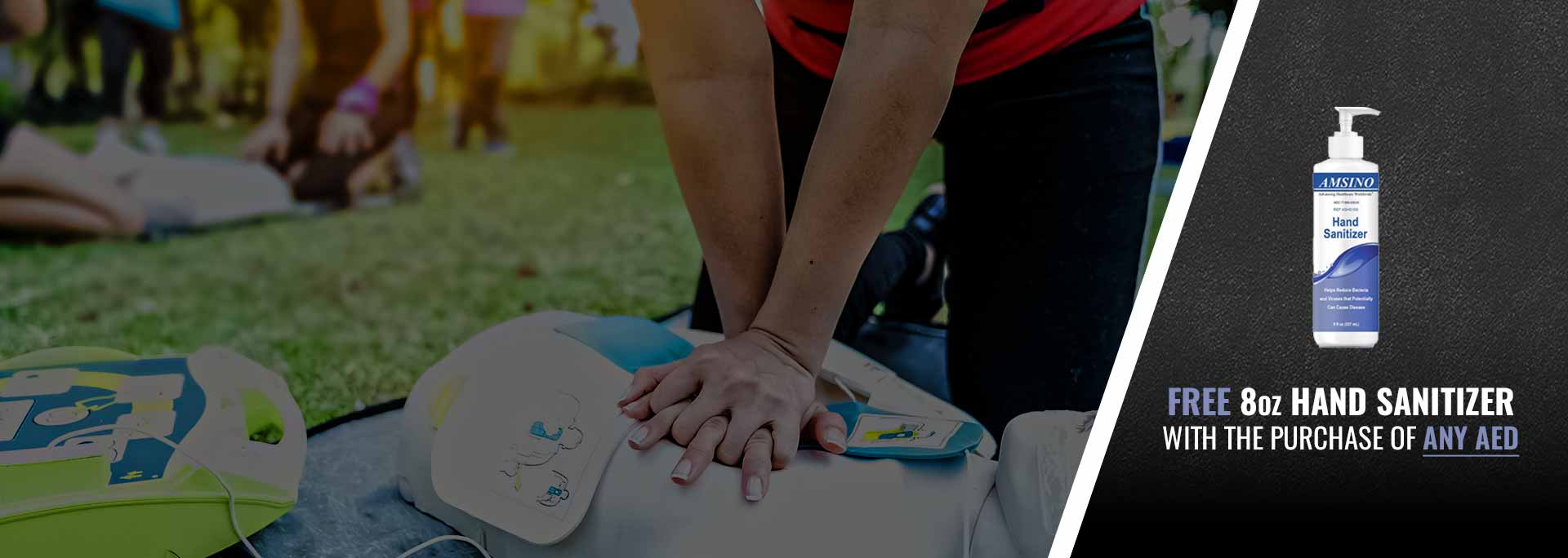 SUDDEN CARDIAC AWARENESS MONTH: Get 50% OFF CPR/AED Use Training with the Purchase of ANY AED