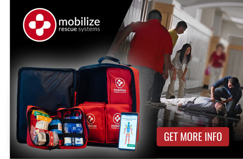 Mobilize Rescue Systems Public Access Kit, Tennessee Schools