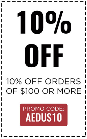 10% OFF $100 or MORE