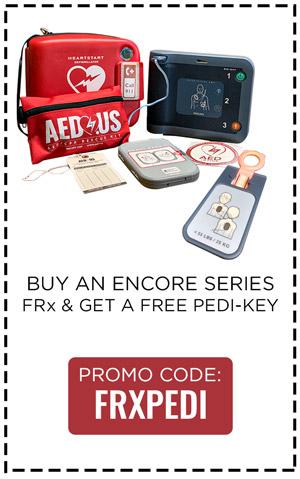 Buy FRx AED, Get A Free Pedi-Key