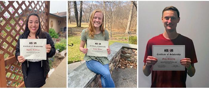 AED.US Scholarship Program Winners