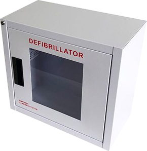 Free Small AED Wall Cabinet