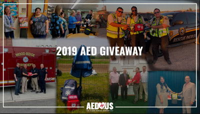 AED Giveaway Winners 2019