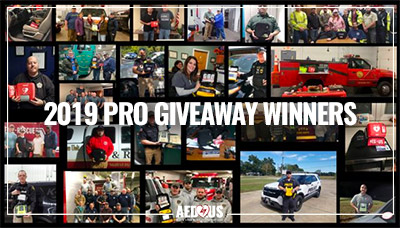 Pro AED Giveaway Winners 2019